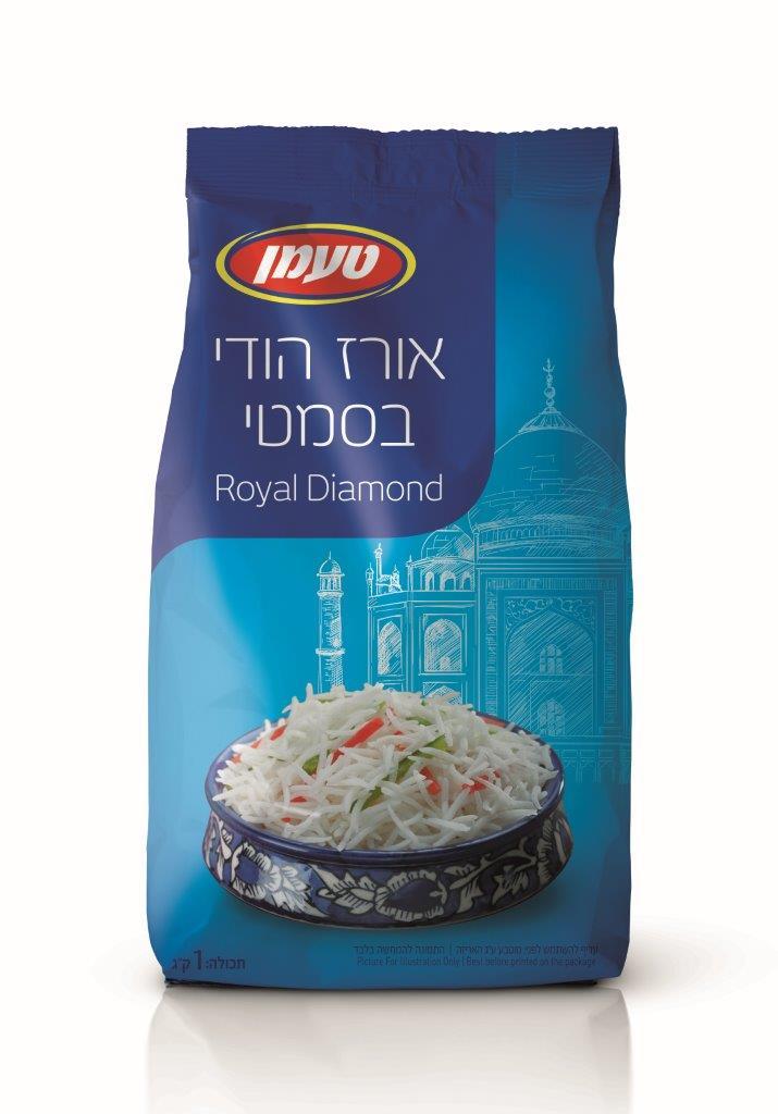 אורז בסמטי 1 קג
