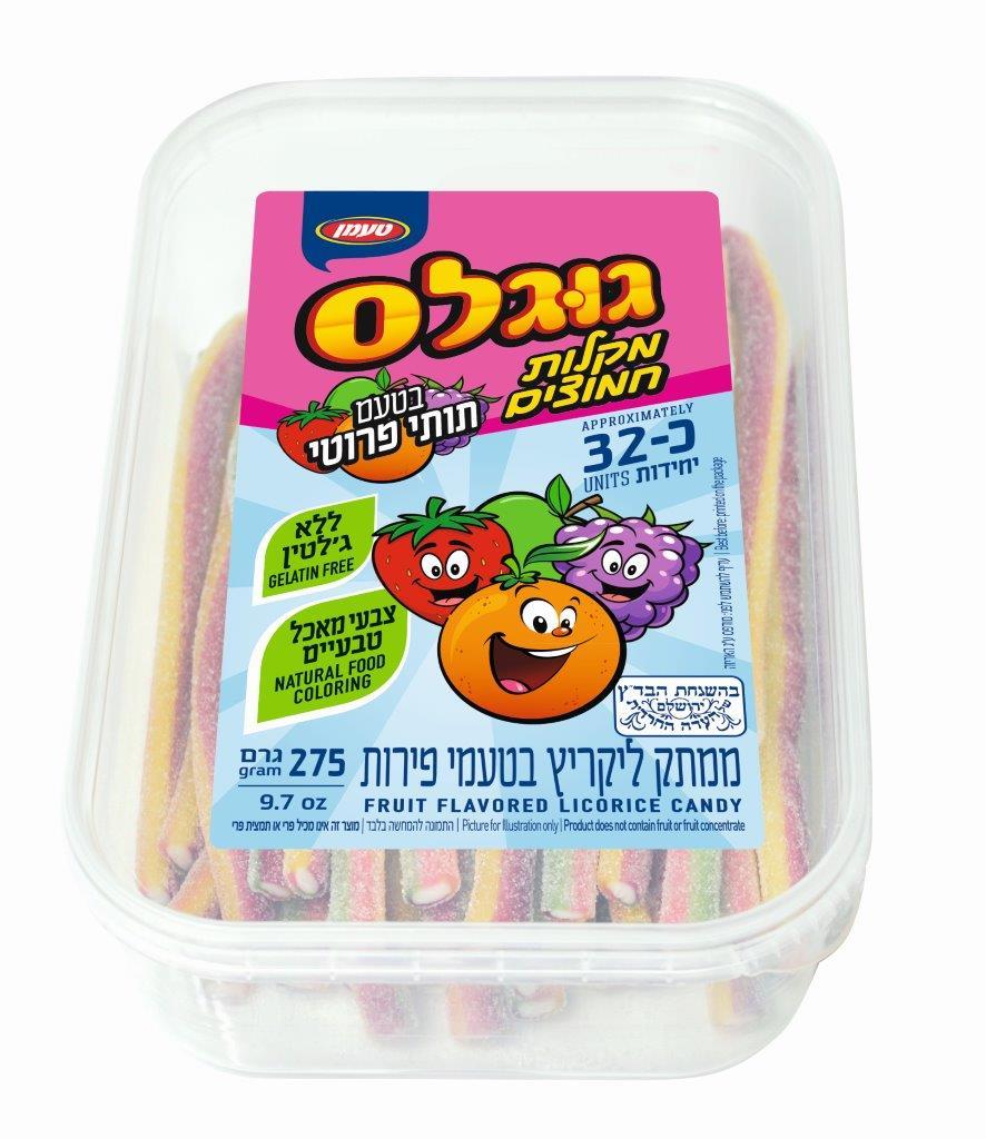 מקלות חמוצים תותי פרוטי 275 ג'