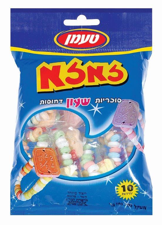 סוכריות שעון 10 יח