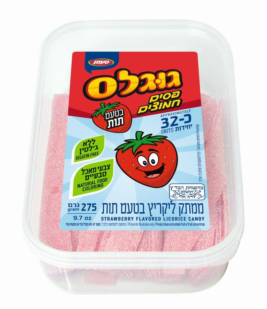 פסים חמוצים תות 275 ג
