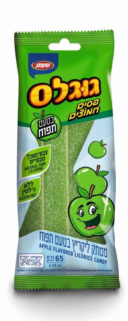 פסים חמוצים תפוח 65 ג
