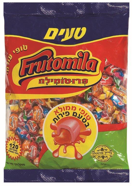פרוטמילה טופי ממולא בטעם פירות 700 ג'