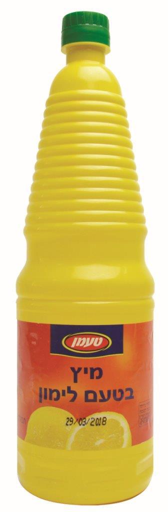 מיץ לימון משומר ליטר